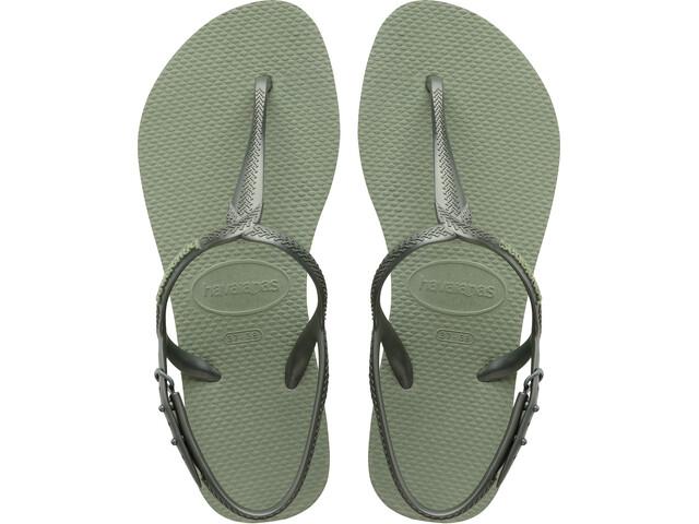 havaianas Twist Chaussures Femme, mineral green